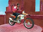 In King of Bikes stürzen Sie sich mit einem schnellen Fahrrad durch fantas