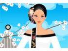 Hanbok ist eine traditionelle koreanische Kleidung. Es besteht aus einem Rock (
