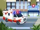 Krankenwagen fahrer ist ein lustiges Fahrspiel, in dem du einen Krankenwagen du