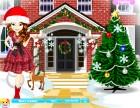 Kristel ist immer bereit für eine große Weihnachtsfeier in ihrem Haus. Dress