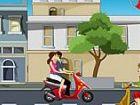 Küssen Ride - Sie sind auf der Straße mit Ihrer Freundin Reiten! Küssen Sie