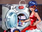 Es ist Waschtag mit Ihrem Lieblingssuperhelden Miraculous Ladybug. Sortieren Si