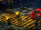 Die Lampada Street ist ein Straßenkreuzungsspiel. Eine der 3 Glühbir