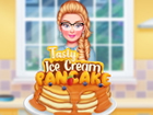 Bist du bereit, mit Barbie das leckerste Pfannkuchen-Dessert zuzubereiten? Zieh