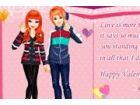 Cathy und Hason wollen etwas Besonderes am Valentinstag ihre Liebe für einande