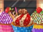 kleine Kuchen sind groß, jeder liebt sie! Sie sehen auch lustig, wegen ihrer g