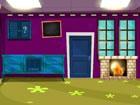 Lila Haus entkommen ist ein Point-and-Click-Spiel, das von 8B Games / Games2Mad