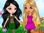 Lora und Sonia brauchen Ihre Hilfe, um eine schöne Outfit für summer.First Si
