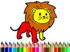 Löwe Malbuch ist ein lustiges Färbespiel für alle Altersgruppen.