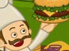 Diese Outdoor-Koch kocht gerne Burger auf den G...