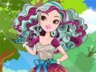 Madeline Haar ist lockig und kommt in drei Farben: dunkel türkis, helltürkisf