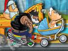 Madmen Racing ist das spaßige 2D-Crazy-Racing-Game, in dem du Gegner in einer