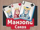 Mahjong Cards ist ein Mahjong Puzzlespiel, bei dem anstelle von Plättchen