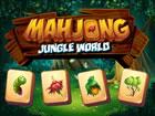 Vereinfachtes klassisches Mahjong Spiel mit Dschungel Thema. Sie können zw
