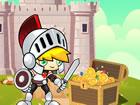 Majestic Hero ist ein lustiges Puzzlespiel, bei dem Sie einem Helden helfen, se