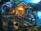 Ein Maler krokodil lebte in einem schrecklichen Dorf. Das Krokodil malte im Hau