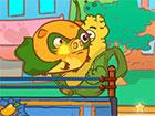 Mango Piggy Piggy ist zurück. Dieses Mal hast du es mit Bad Veggies zu tun