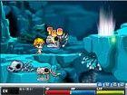 Dies ist eine kleine koreanische flash-Spiel, wo Sie von Plattform zu Plattform