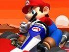Prinzessin Pfirsich war weg, Mario fuhr mit seinem geliebten Auto auf der Suche