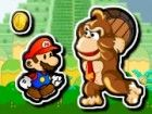 Prinzessin wurde von Donkey Kong entführt worden. Hilfe maio passieren all das