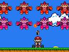 Mario Invaders ist ein fantastisches Spiel im Stil von Space Invaders, das Supe
