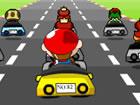 Super Mario ist nun die Teilnahme an einem Kart-Wettbewerb. Glaubst du, dass er