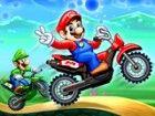 Mario Luigi Yoshi und Peach sind zurück sind diesmal auf Rädern. Wählen Sie