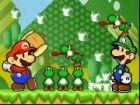 Yoshi sind da draußen auf dem Feld, Futter mit Eiern sein. Mario und Luigi mü