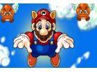 Mario Flight Spiel. Es ist ein Spiel, wo Sie zu Checkpoint-Rennen, bevor Sie di