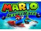 Mario hat einen Jetski Rennen Turnier verbunden. Vermeiden Sie alle Hinderniss