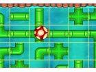 Mario Pipe Puzzle ist ein Rohr Puzzle, Falle, wie viele Pilze wie möglich, bev