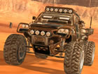 Martian Driving verfügt über ein Offroad-Fahrzeug und eine riesige Ma