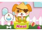 Ich Spiele alle Arten von Spielen mit meinem Doggy Maui und er liebt es! Manchm