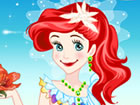 Diese süße Meerjungfrau Prinzessin findet seine Liebe und sie wird m