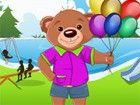 Hilfe dieser niedlichen Teddybär verkleiden sich schön für ein bash in den D