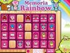Memoria Rainbow - drehen Sie die Karten und finden Sie die entsprechende Übere
