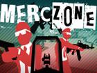 Merc Zone ist ein erstaunlich schneller Ego Shooter mit wenig Trickgrafiken. Da