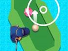 Minigolf-Spiel, bei dem Sie in 48 Levels alle Diamanten einsammeln, um die h&ou