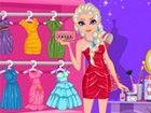 Die Prinzessin Elsa ist für Abschlussballnacht vorbereitet, und sie sucht das