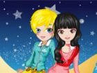Die kleine Prinzessin Mond und der Prinz machen...