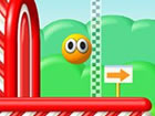 Mondo Hop ist ein lustiges Spiel, bei dem du einen springenden Ball über b