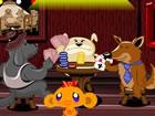Monkey Go Happy Stage 407 Hunde, die Poker &...