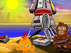 Monkey GO Happy: Stage 453 - Planet der Affe...