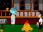 Monkey GO Happy: Stage 461 - Mansion of Maniacs ist ein Point-and-Click-Puzzle-