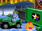 Monkey GO Happy: Stage 487 - Snowmen Army is...