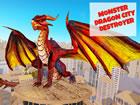 Monster Dragon City Attack ist ein cooles Drachensimulatorspiel, das Sie hier a