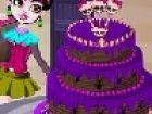 Draculaura will einen Kuchen backen! Werden Sie ihr helfen, um diesen Kuchen de