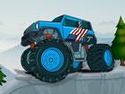 Monster Truck Mountain Climb ist ein lustiges Fahrspiel, bei dem Sie einen LKW