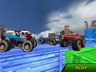 Monster Truck ist hier und braucht deine Fähigkeiten, um in den Himmel zu