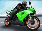 Hier ist eigentlich ein Motorrad Stunt Rennsimulationsspiel, das aus einer drei